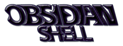 Obsidian Shell Homepage